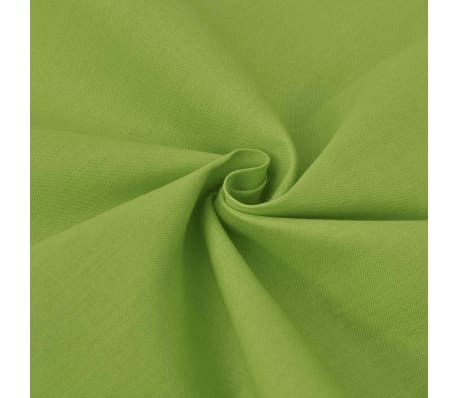 vidaXL Cotton Fabric 1.45x20 m Green[2/2]