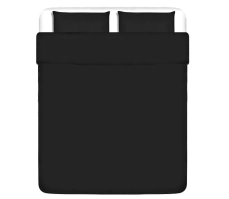 vidaXL Set husă pilotă/fețe pernă, bumbac, 200x200/60x70 cm, antracit[1/4]