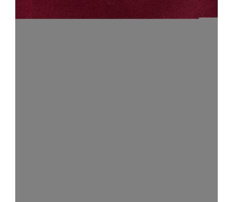 vidaxl 3 tlg bettw sche set baumwolle burgunderrot 200x220 60x70 cm g nstig kaufen. Black Bedroom Furniture Sets. Home Design Ideas