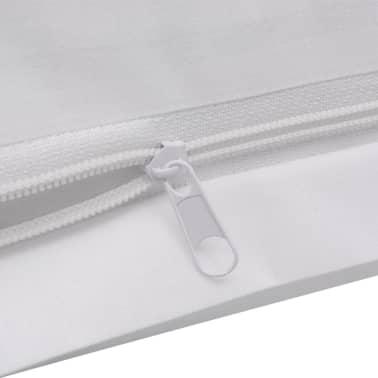 vidaXL patalynės komplektas, baltas, medvilnė 200x220/60x70 cm[4/4]
