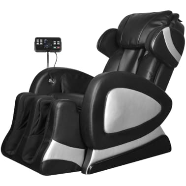 Black Electric Artificial Leather Massage Chair with Super Screen[1/9]