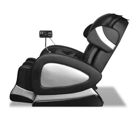 Black Electric Artificial Leather Massage Chair with Super Screen[4/9]