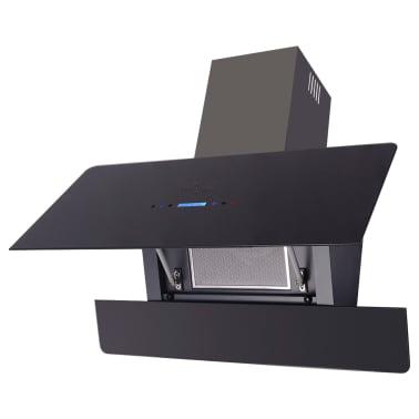 vidaXL Afzuigkap met touch scherm zwart 900 mm[2/10]