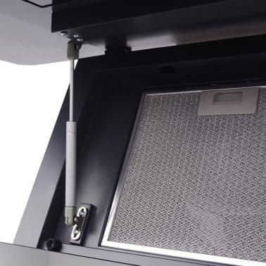 vidaXL Afzuigkap met touch scherm zwart 900 mm[6/10]