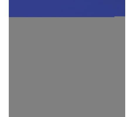 875cf722468 vidaXLi kummiga voodilina 2 tk puuvillane 90 x 190-100 x 200 cm sinine[