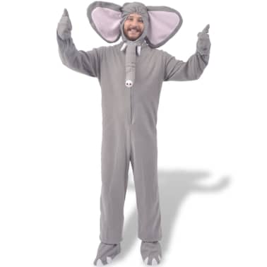 vidaXL Costume de carnaval Éléphant gris M-L[1/2]