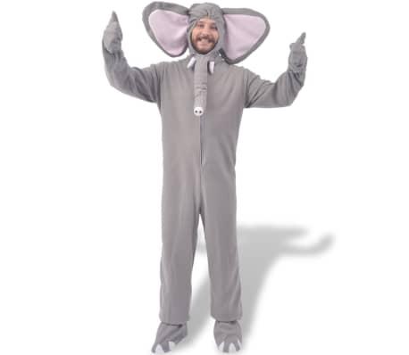 vidaXL Costume de carnaval Éléphant gris M-L[2/2]