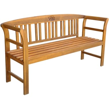 Fine Vidaxl Garden Bench 61 8 Solid Acacia Wood Vidaxl Com Ncnpc Chair Design For Home Ncnpcorg