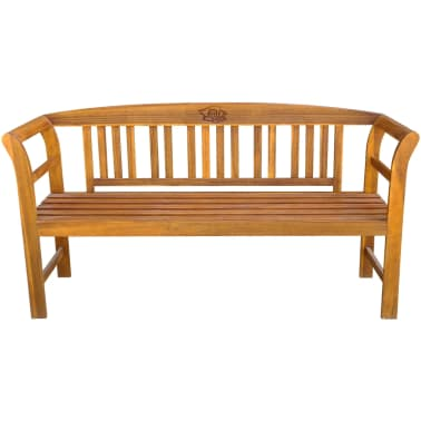Fantastic Vidaxl Garden Bench 61 8 Solid Acacia Wood Vidaxl Com Ncnpc Chair Design For Home Ncnpcorg