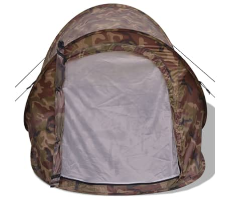vidaXL Pop-up tent 2-persoons camouflage[4/9]