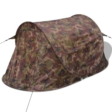 vidaXL Pop-up tent 2-persoons camouflage[3/9]