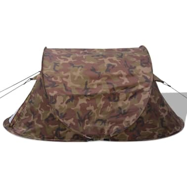 vidaXL Pop-up tent 2-persoons camouflage[5/9]