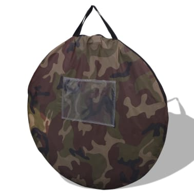 vidaXL Pop-up tent 2-persoons camouflage[8/9]