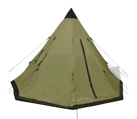 vidaXL Tent 4 personen groen[2/7]