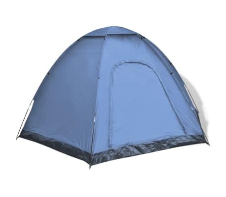 vidaXL 6 személyes kék sátor[2/7]