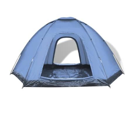 vidaXL 6 személyes kék sátor[4/7]