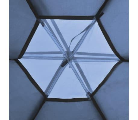 vidaXL 6 személyes kék sátor[5/7]