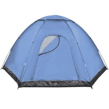 vidaXL 6 személyes kék sátor[3/7]
