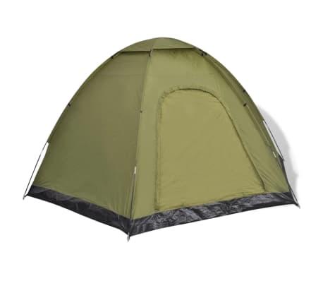vidaXL 6-person Tent Green[2/7]