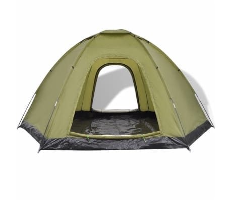 vidaXL 6-person Tent Green[4/7]