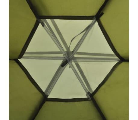 vidaXL 6-person Tent Green[5/7]