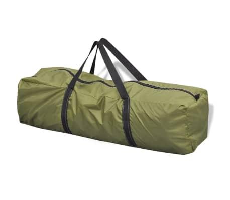 vidaXL 6-person Tent Green[6/7]