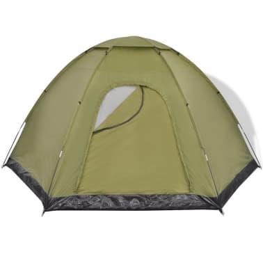 vidaXL 6-person Tent Green[3/7]