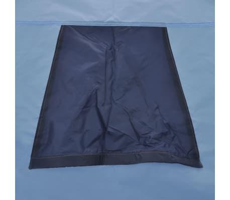vidaXL Stan pre 3 osoby, modrý[9/11]
