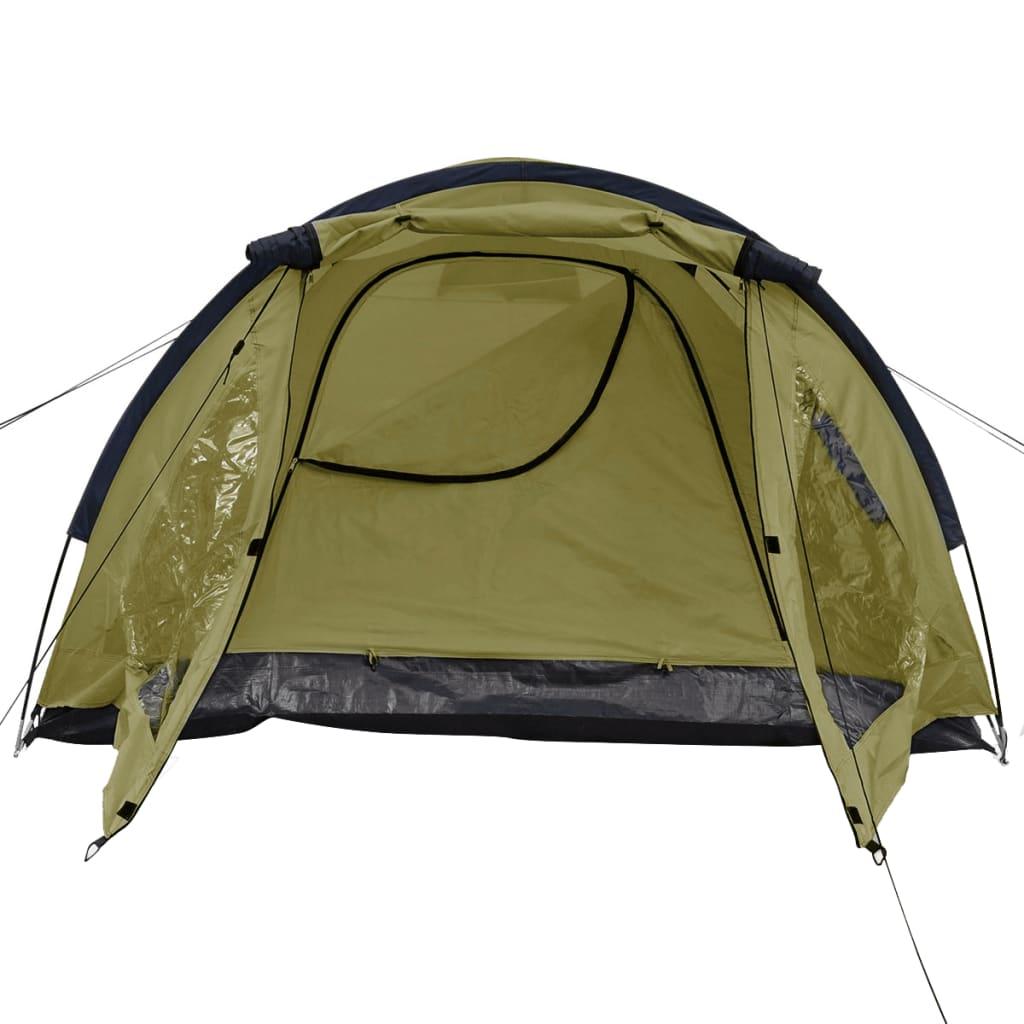 vidaXL Tent 3-persoons groen