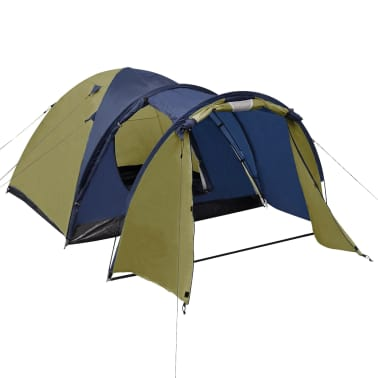 vidaXL 4-person Tent Green[2/9]