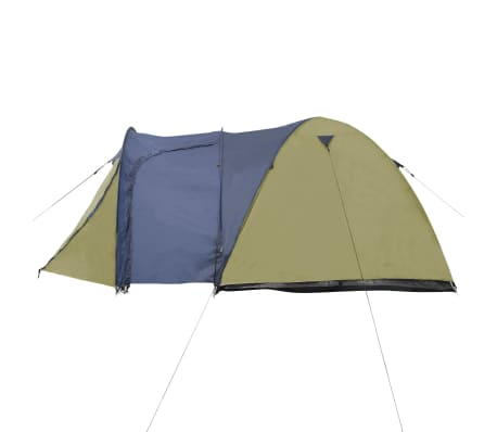 vidaXL 4-person Tent Green[3/9]