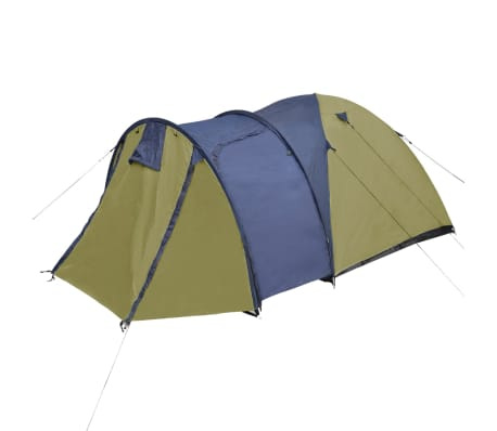 vidaXL 4-person Tent Green[4/9]