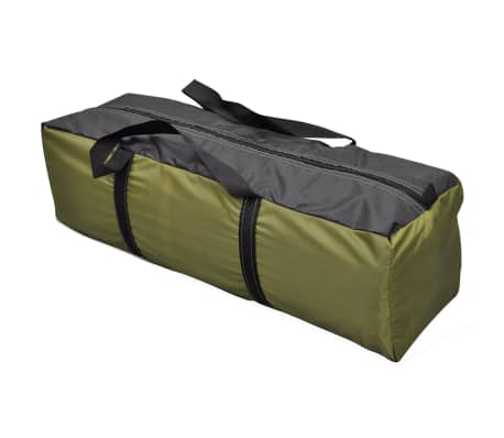 vidaXL 4-person Tent Green[8/9]