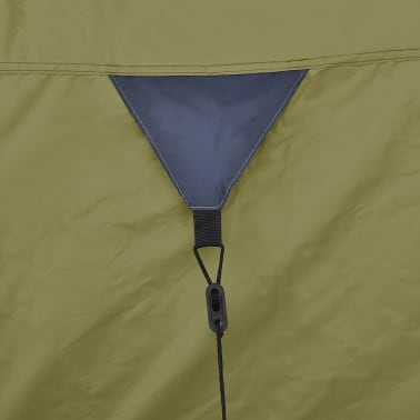 vidaXL 4-person Tent Green[6/9]