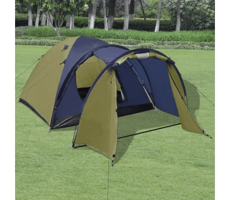 vidaXL 4-person Tent Green[1/9]