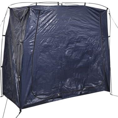vidaXL Tente de rangement pour vélo 200 x 80 x 150 cm Bleu[1/4]