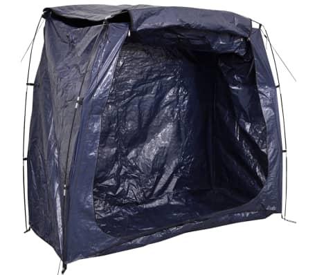 vidaXL Tente de rangement pour vélo 200 x 80 x 150 cm Bleu[3/4]