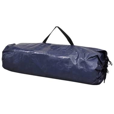 vidaXL Tente de rangement pour vélo 200 x 80 x 150 cm Bleu[4/4]