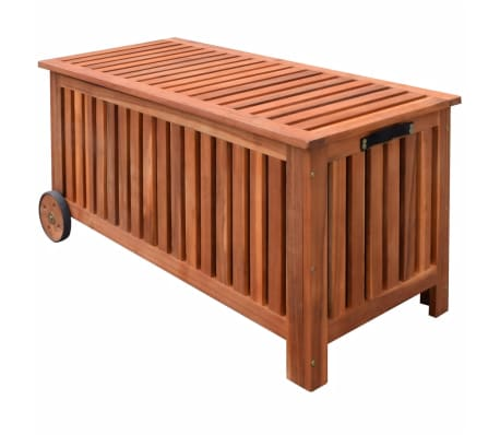 vidaXL Garden Storage Box 118x52x58 cm Wood