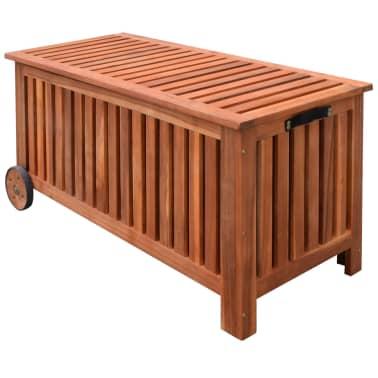 vidaXL Záhradný úložný box 118x52x58 cm drevený[1/6]