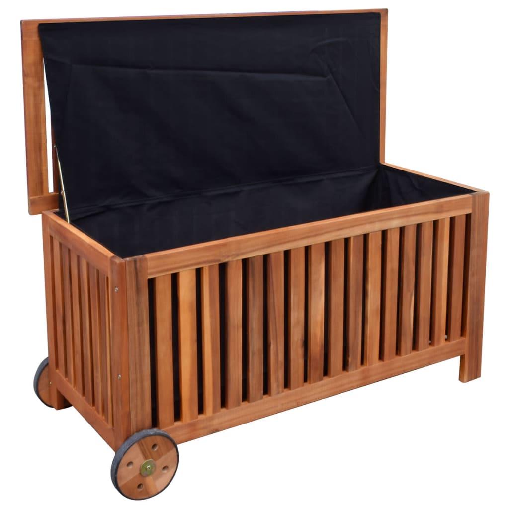 9941772 Auflagenbox Gartenbox Holz 118x52x58 cm