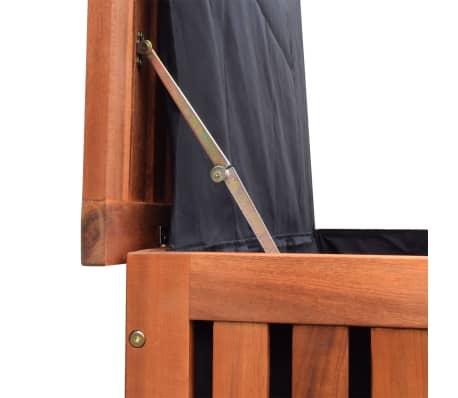 vidaXL Záhradný úložný box 118x52x58 cm drevený[4/6]