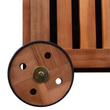 vidaXL Caja de almacenaje de jardín de madera 118x52x58 cm[5/6]