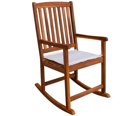 vidaXL Outdoor Rocking Chair Acacia Wood[1/6]