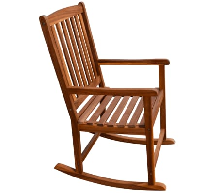 vidaXL Garden Rocking Chair Acacia Wood[4/6]