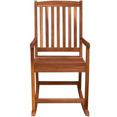 vidaXL Garden Rocking Chair Acacia Wood[5/6]