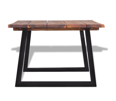 """vidaXL Coffee Table Solid Acacia Wood 43.3""""x23.6""""x15.7""""[4/7]"""