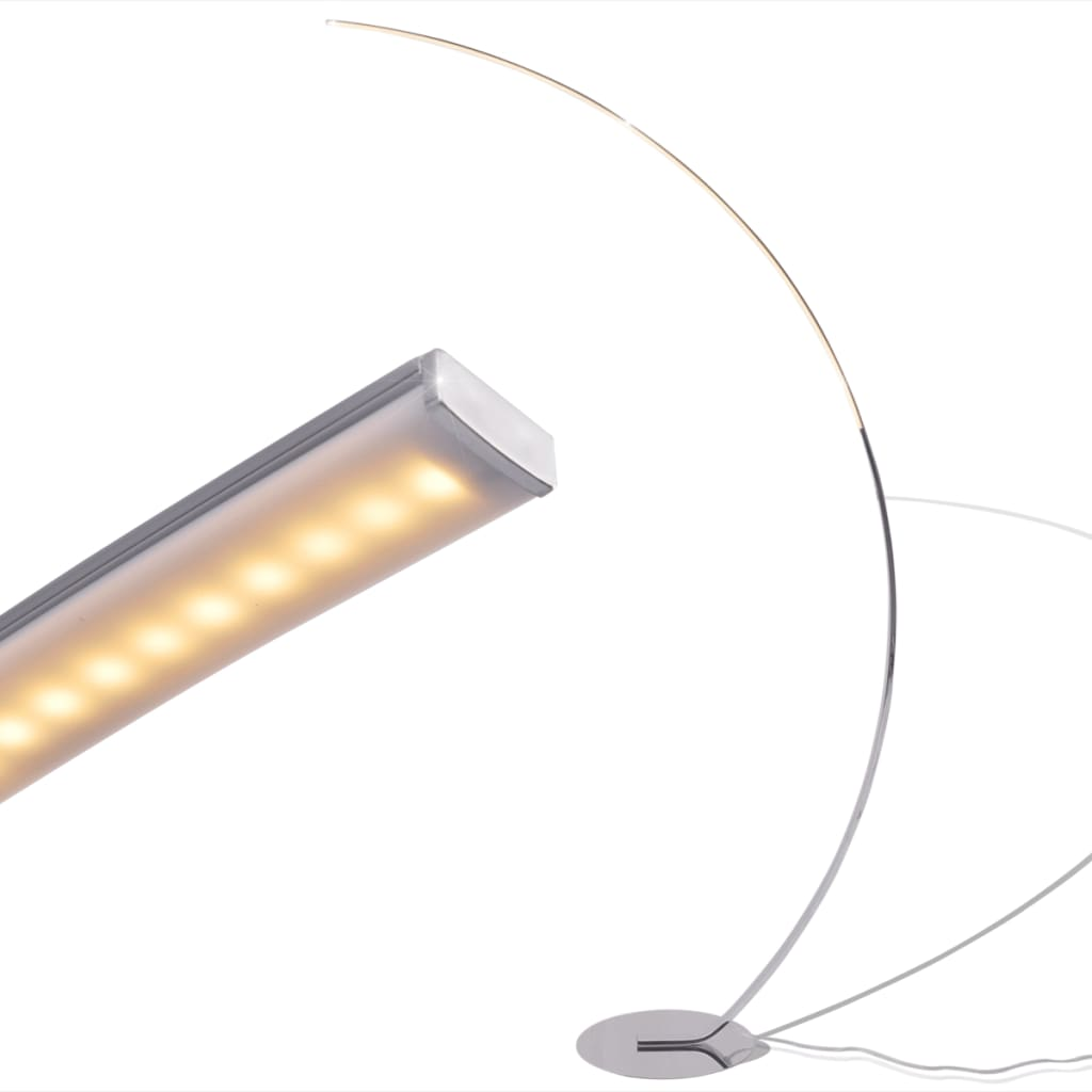 vidaXL Lampă de podea cu iluminare LED și intensitate variabilă 24 W vidaxl.ro