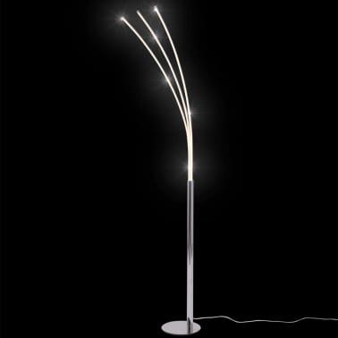 vidaXL Lámpara de pie con luz LED 25 W[5/9]