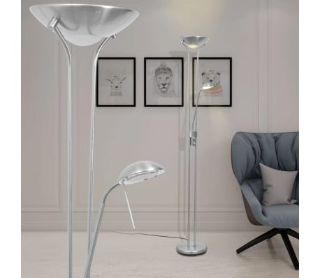 acheter vidaxl lampadaire led clairage r glable 23 w pas cher. Black Bedroom Furniture Sets. Home Design Ideas
